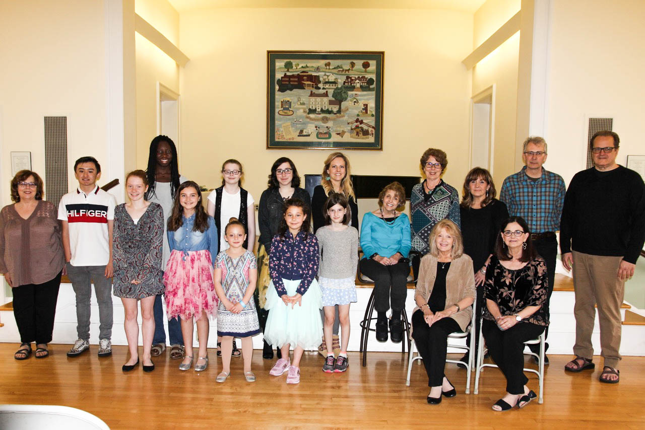 5/19: 2018 Winners of the Main Street Voices Poetry Contest at the James Lorah House in Doylestown