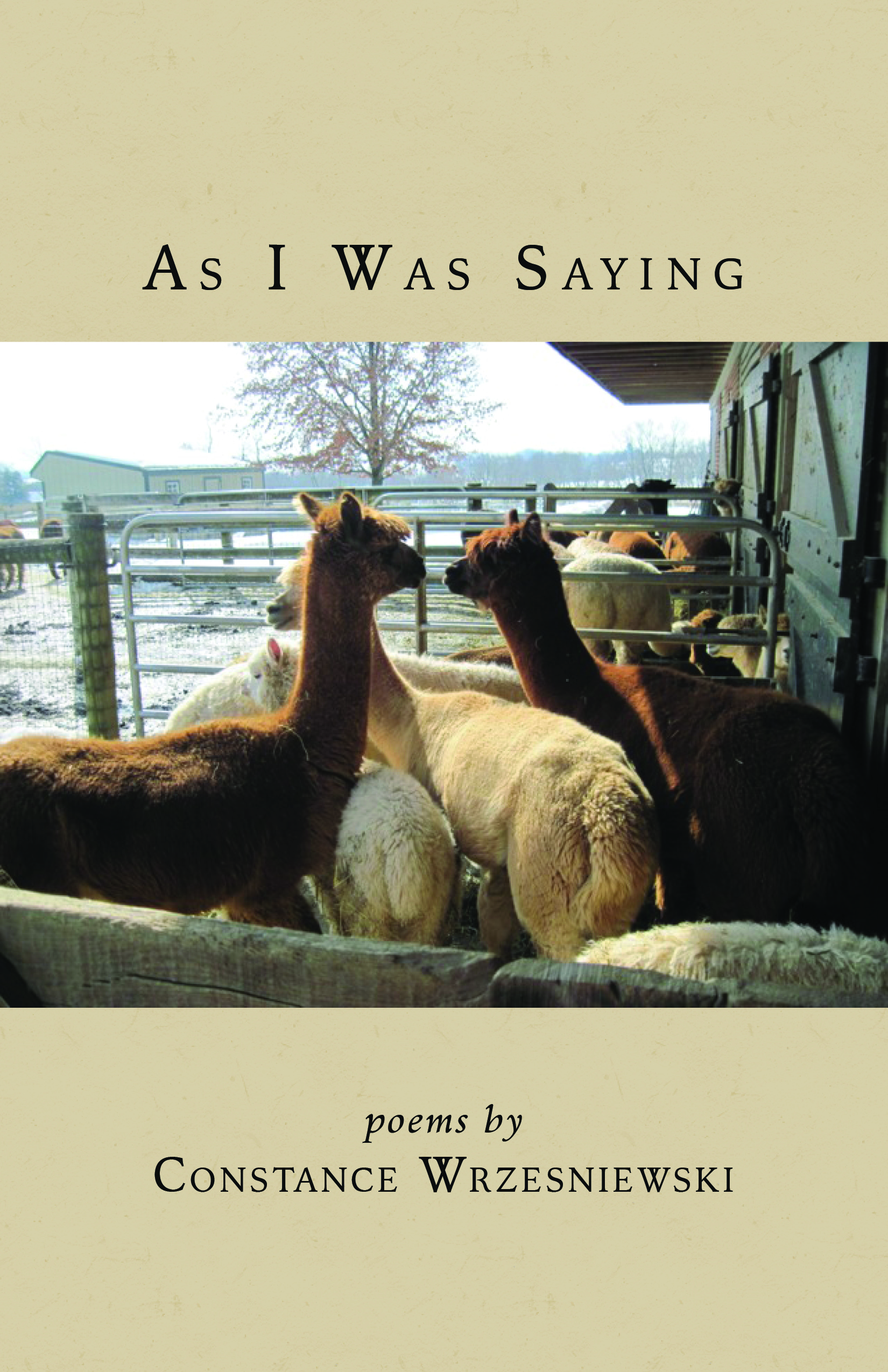 Featured... - As I Was Saying, $14.99 Finishing Line PressAs I Was Saying is an enchanting collection of verse, a joy to read. Progressing in time, it captures people, places, sounds, and sights of her growing up in Philadelphia, an atmosphere familiar to city dwellers of her generation. It is alive with voices of children, street vendors, and delivery men, recalling the rhythms of a gentler age. - Carol Breslin, Ph.D.