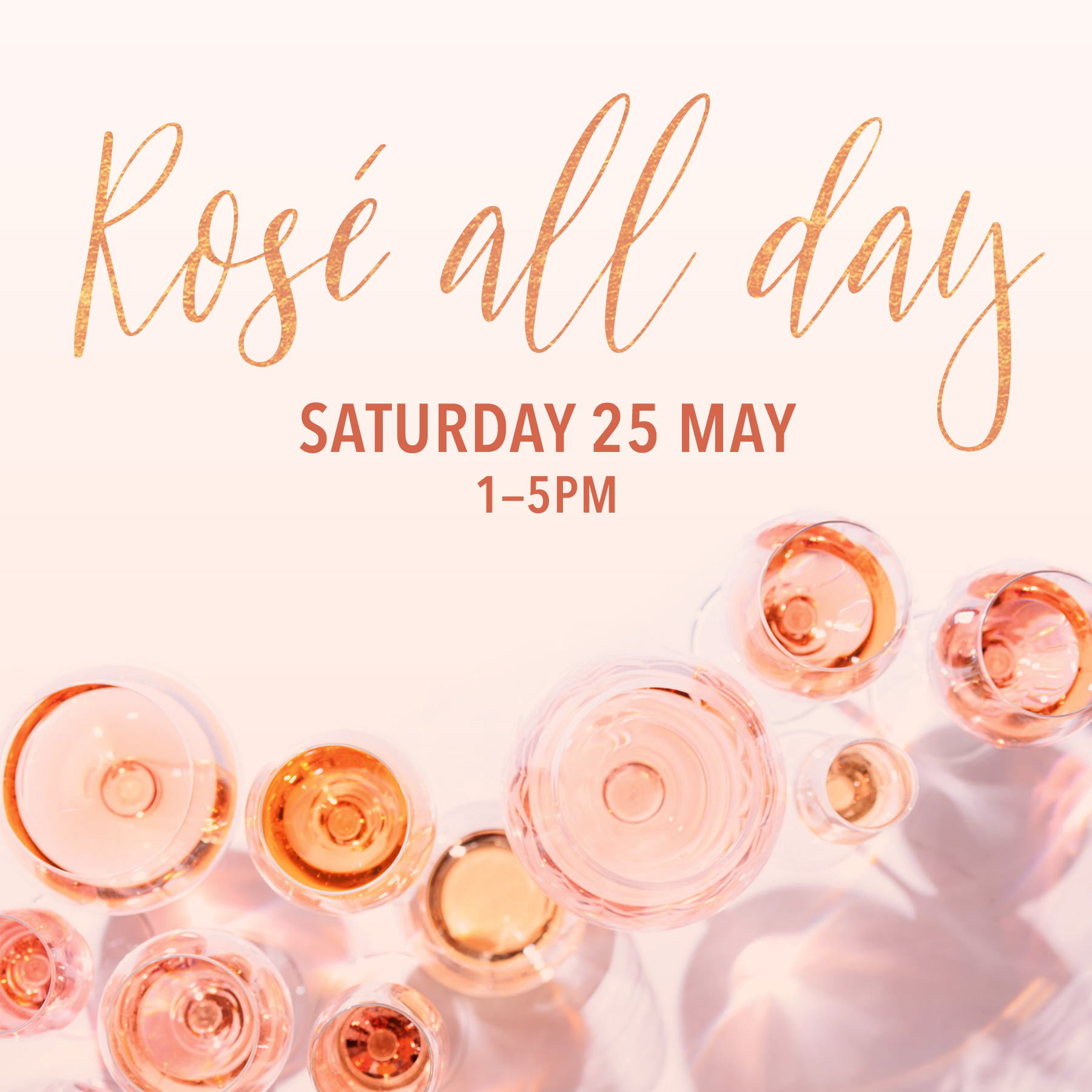 Rosé All Day May 25 Village Wine Shop