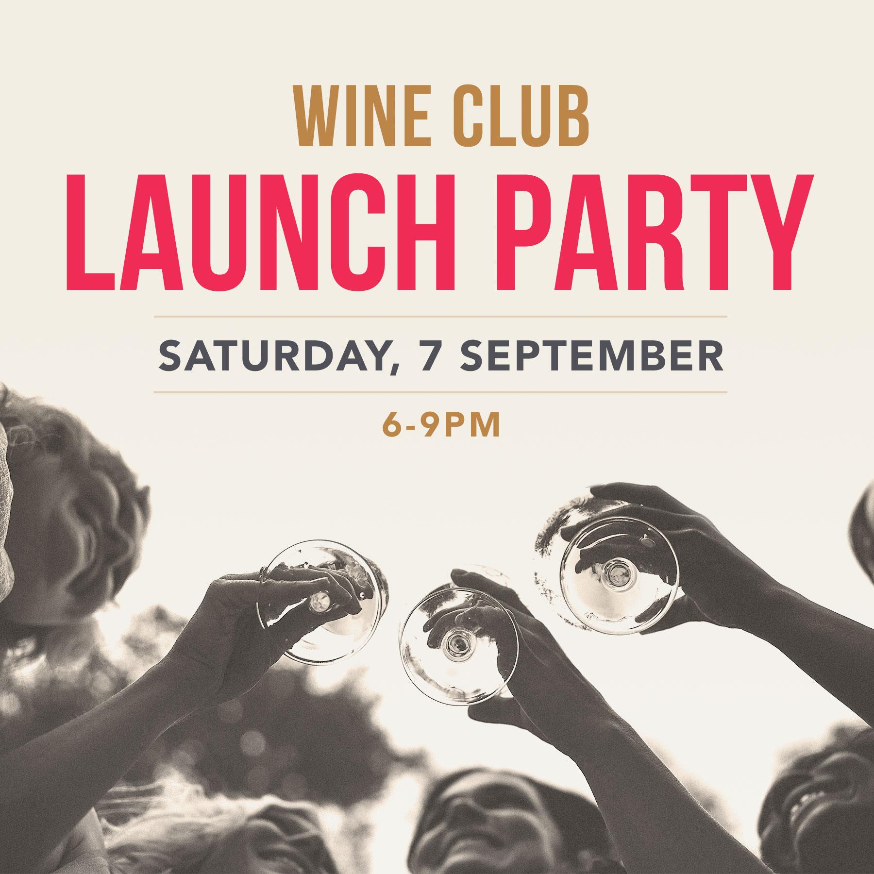 Wine Club Launch Party Sep 7 Village Wine Shop