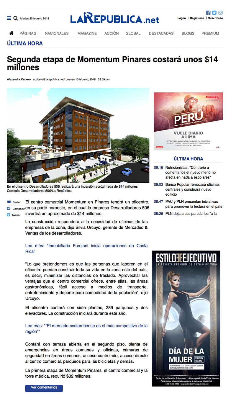 La Republica 15 febrero-1.jpg