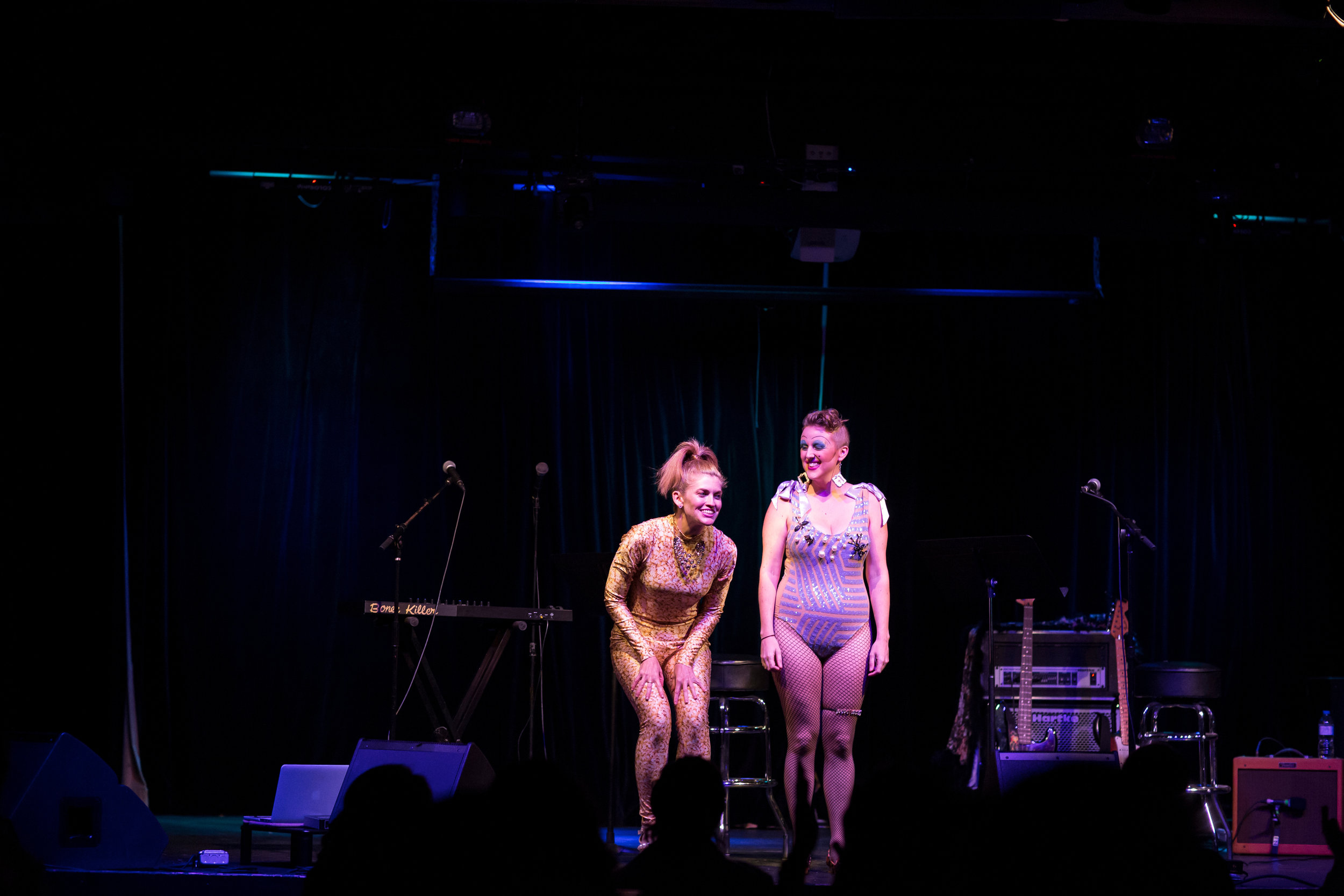 Wet Food: Erin Markey Live with Emily Bate Photo: Brianne Bland
