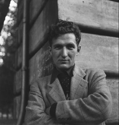 Self-Portrait, ca. 1950 ©Louis Stettner