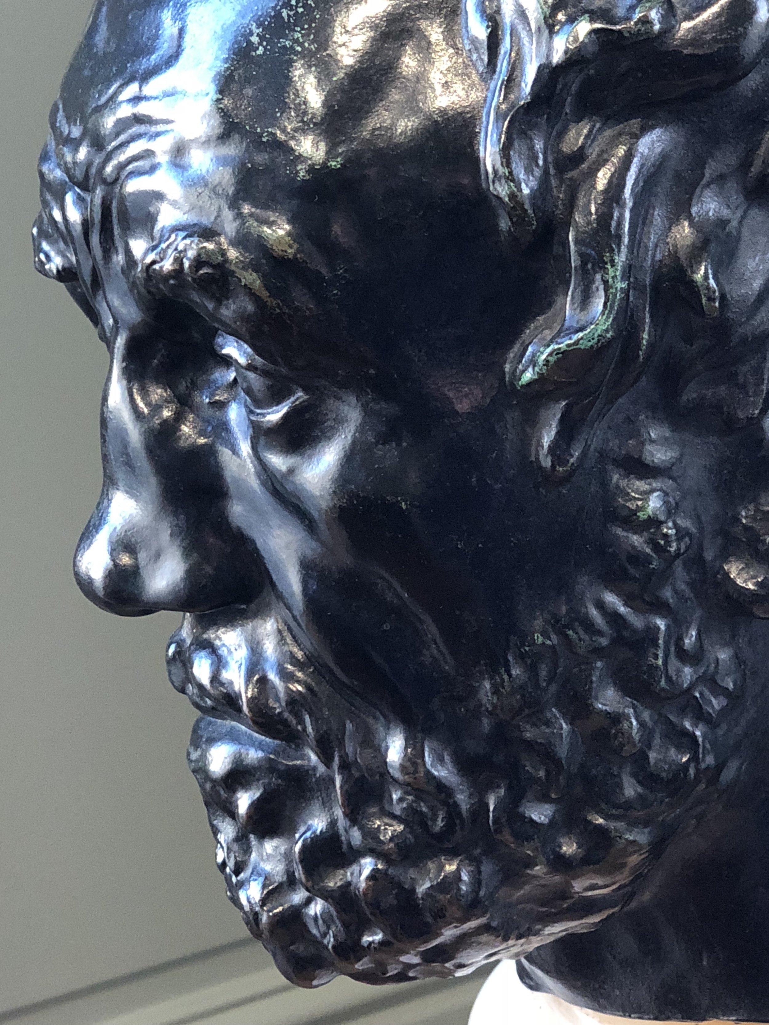 L'Homme au Nez Cassé (1865). Rodin Museum.