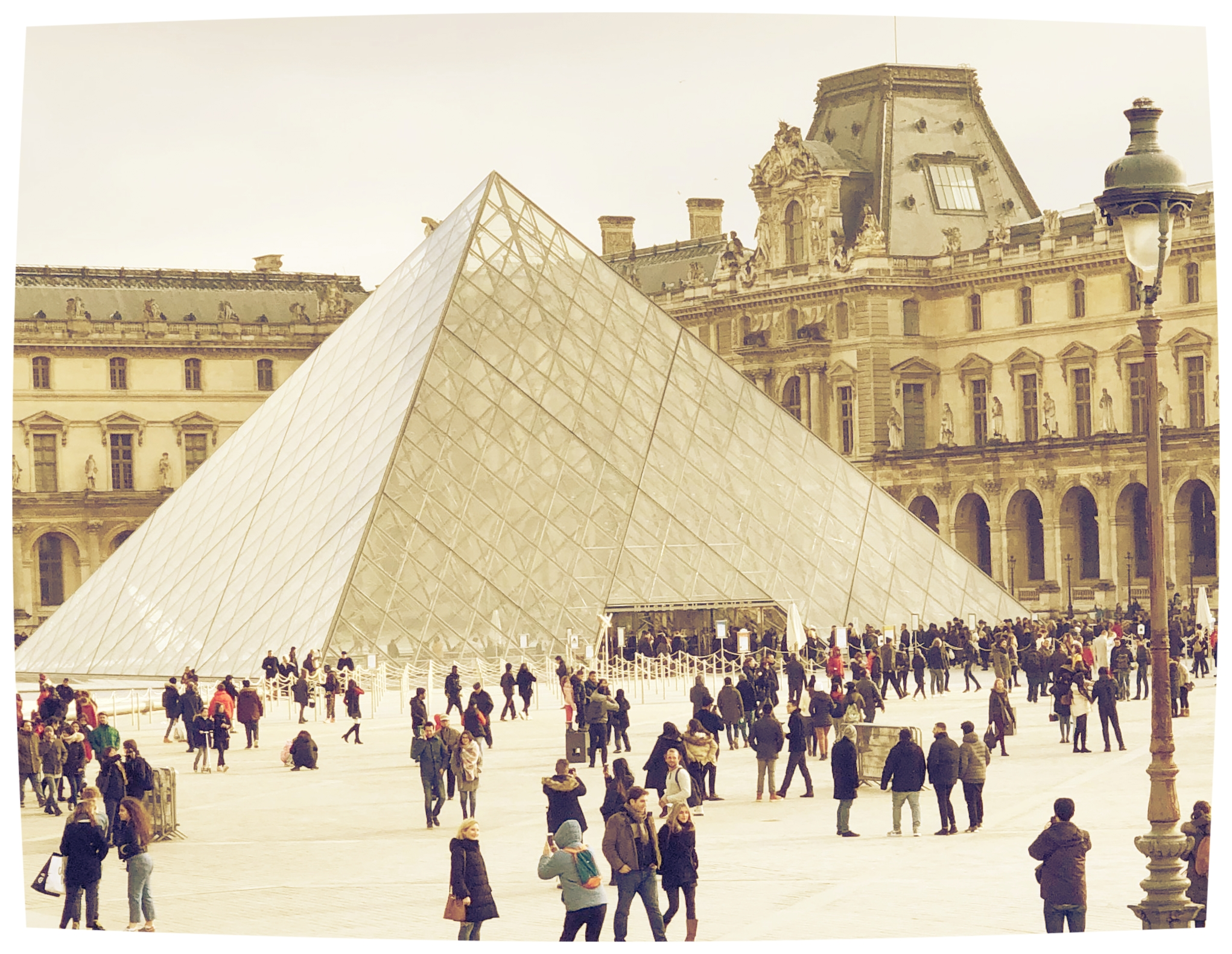 Louvre Museum Entrance Pyramid