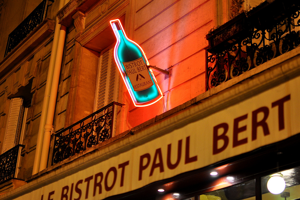 Bistro Paul Bert. Photo courtesy of the Gastronomy Blog