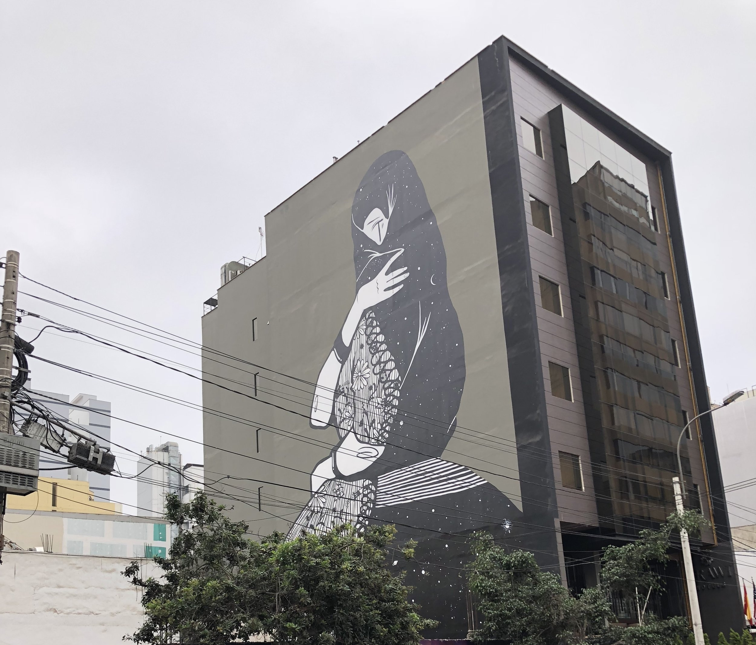 Art on Building in Lima