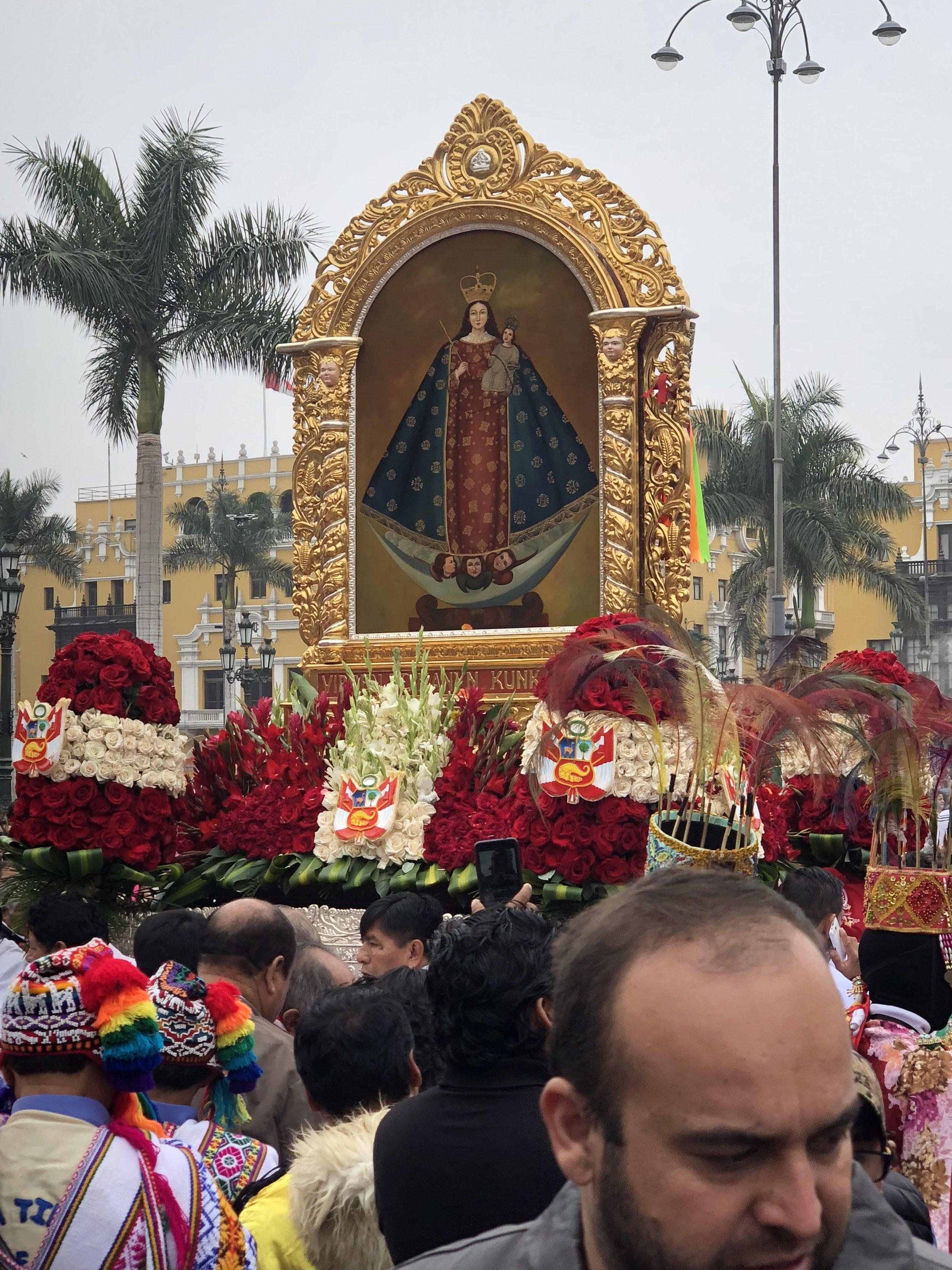 Festival de Patron Procession