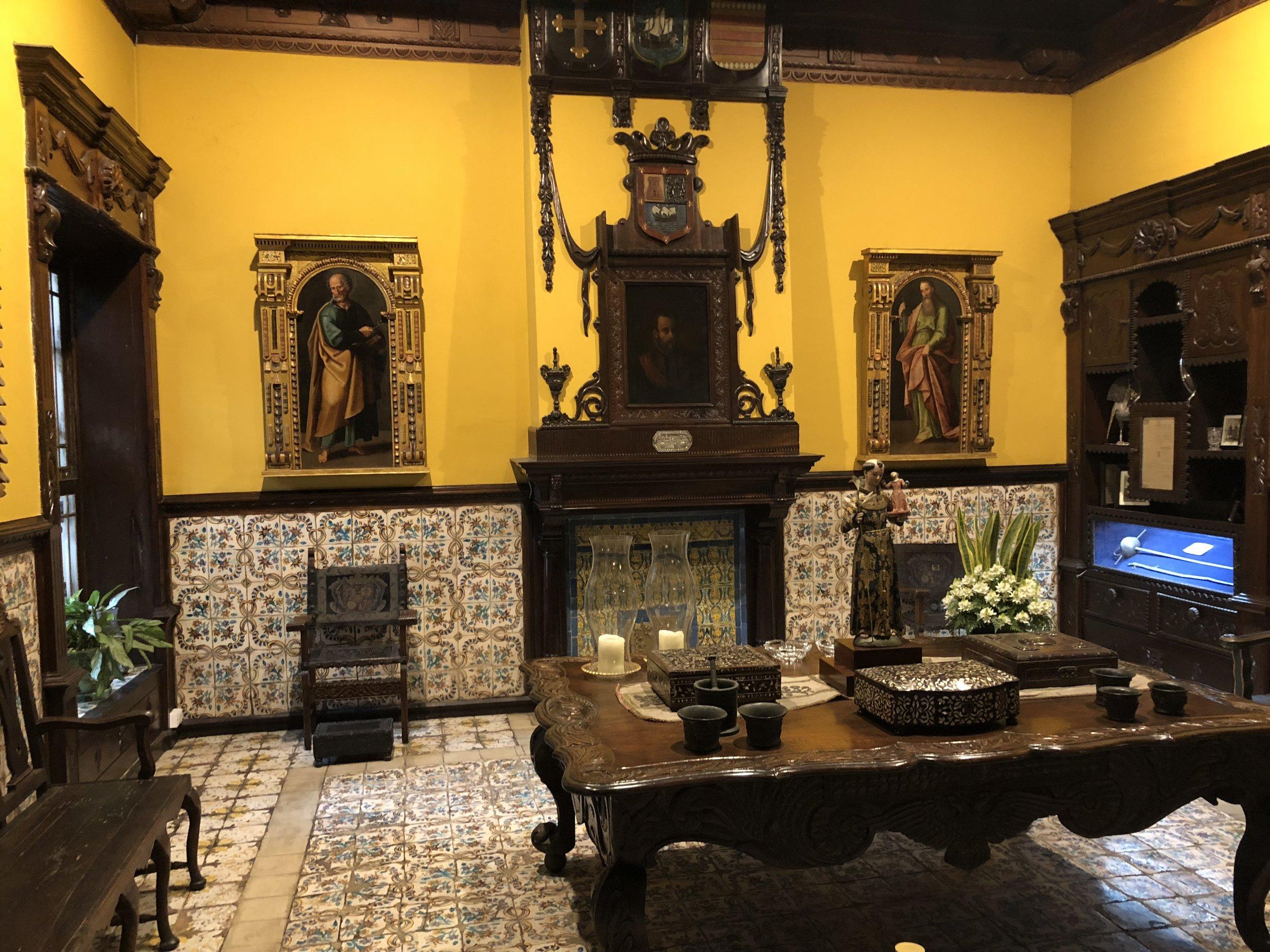 Beautiful Interior of Casa de Aliaga