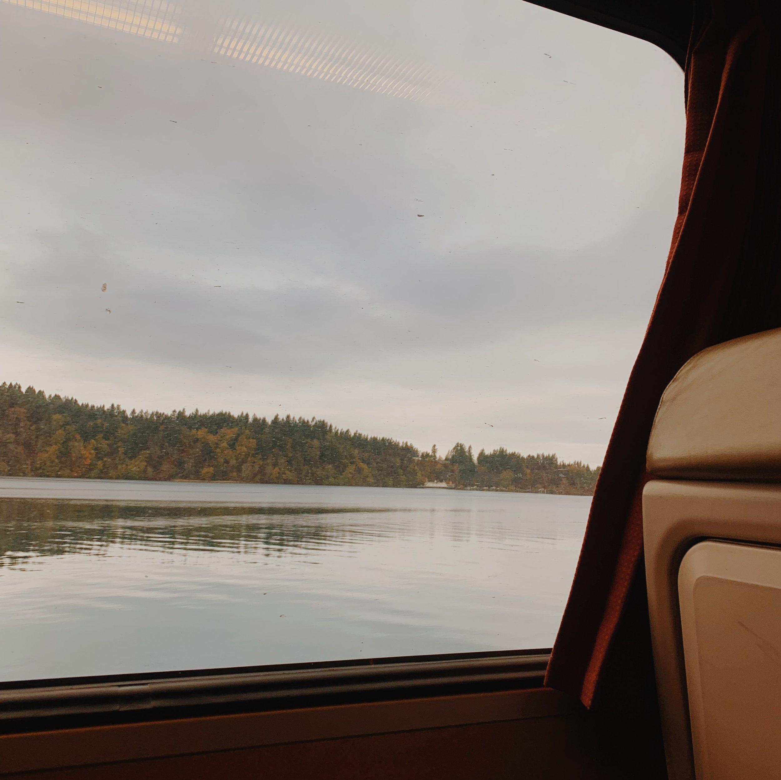 Relaxing Train Ride