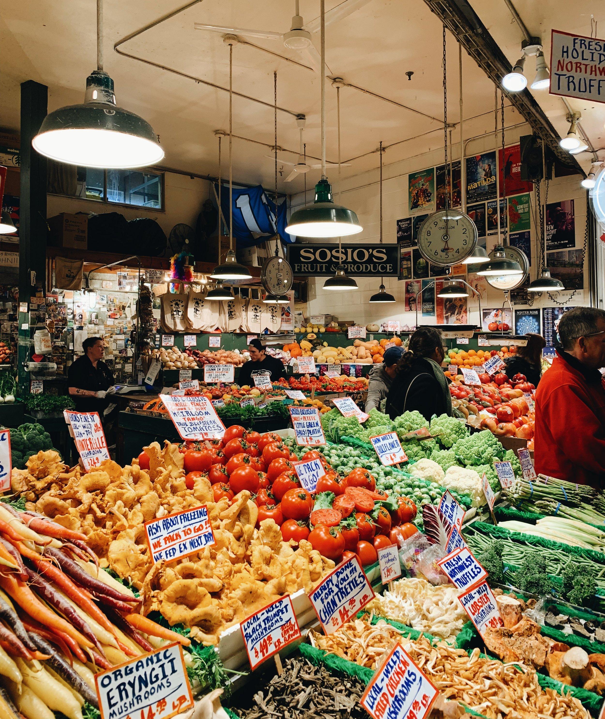 Pike Place Farmers Market