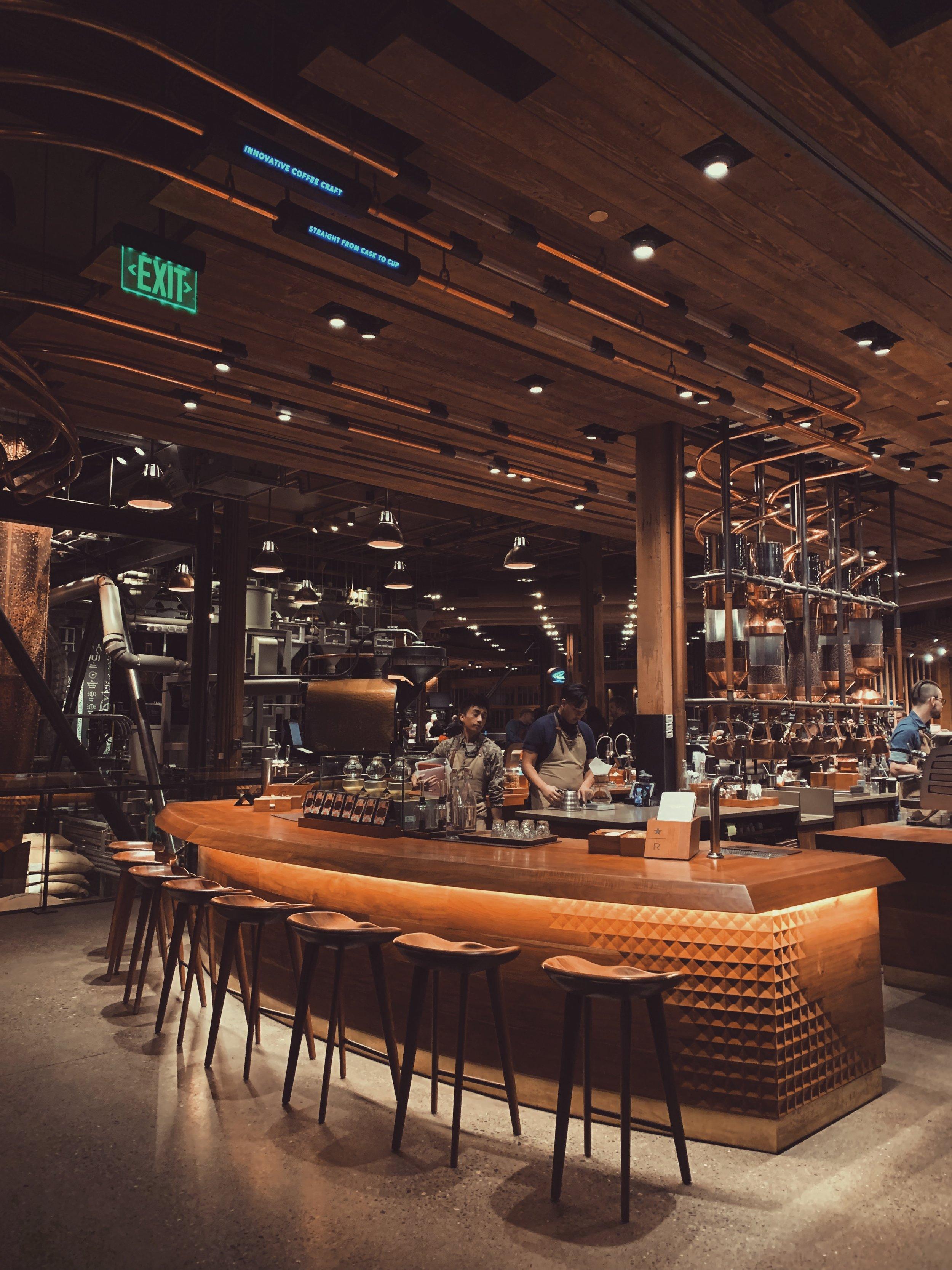 Starbucks Reserve Store