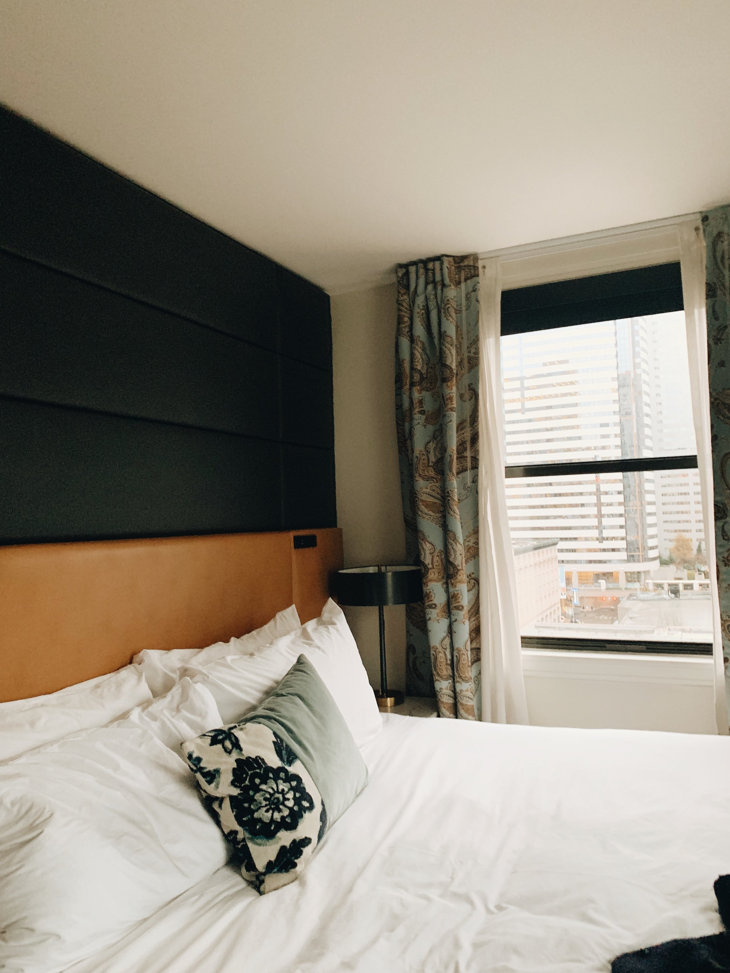 Cute and Cozy Hotel Room