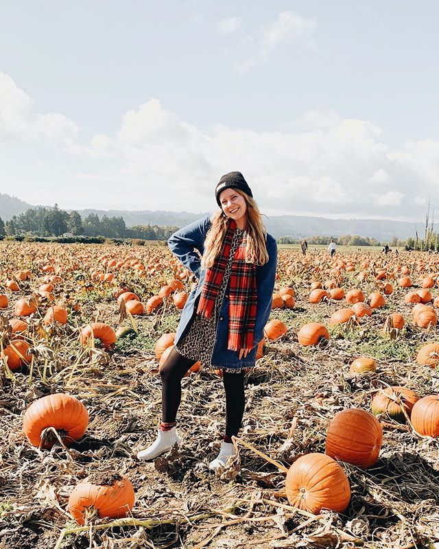The most perfect trip to the pumpkin patch! 🎃