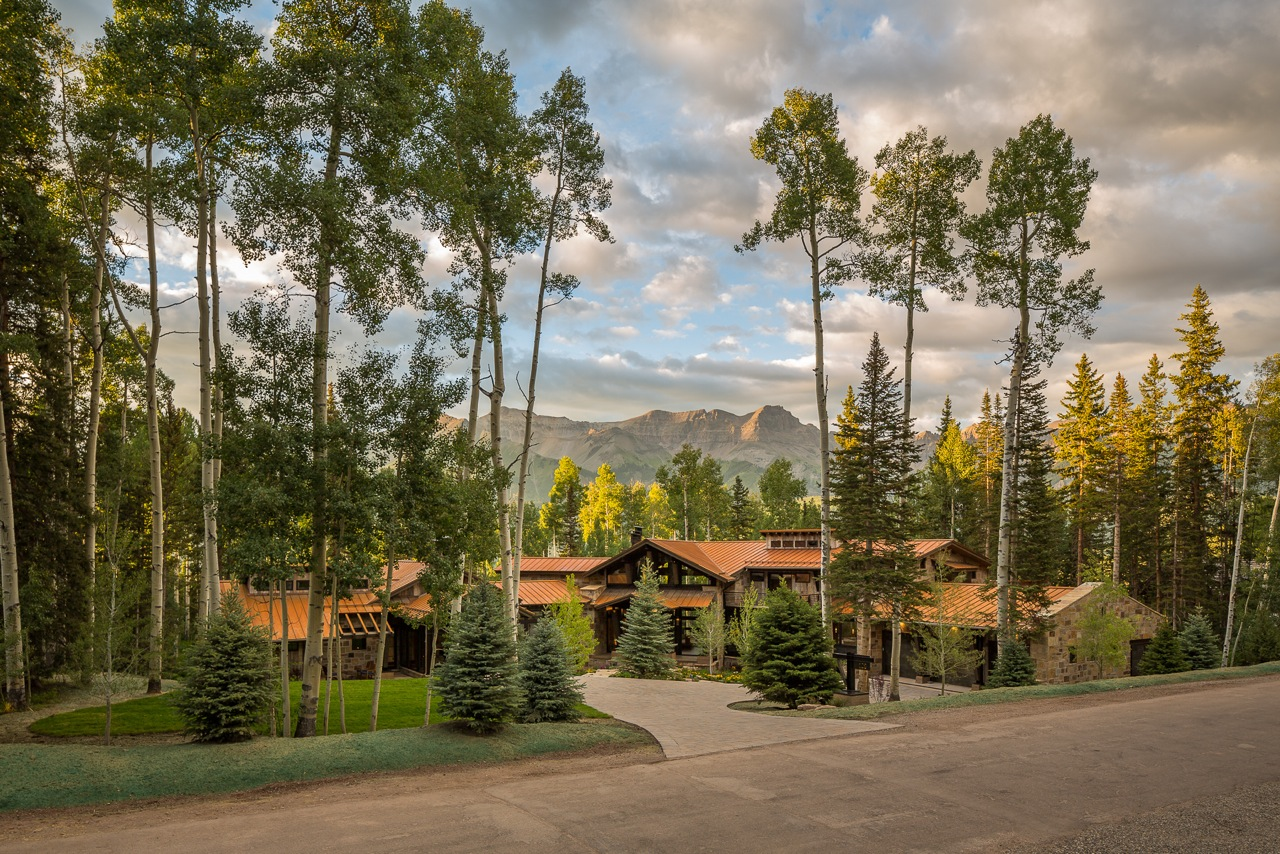 Telluride Residence - This project included landscape design and planning for a custom home project located near Telluride, Colorado. We worked closely with the architect to help enhance the aesthetic appeal of the incredible site with a complete landscape design plan.