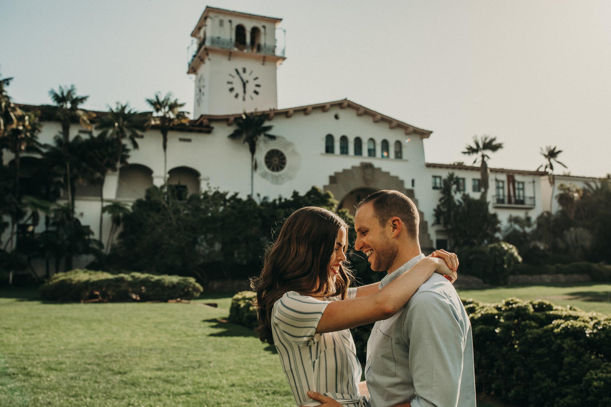 BROOKE + ZACH - Santa Barbara Engagement Session