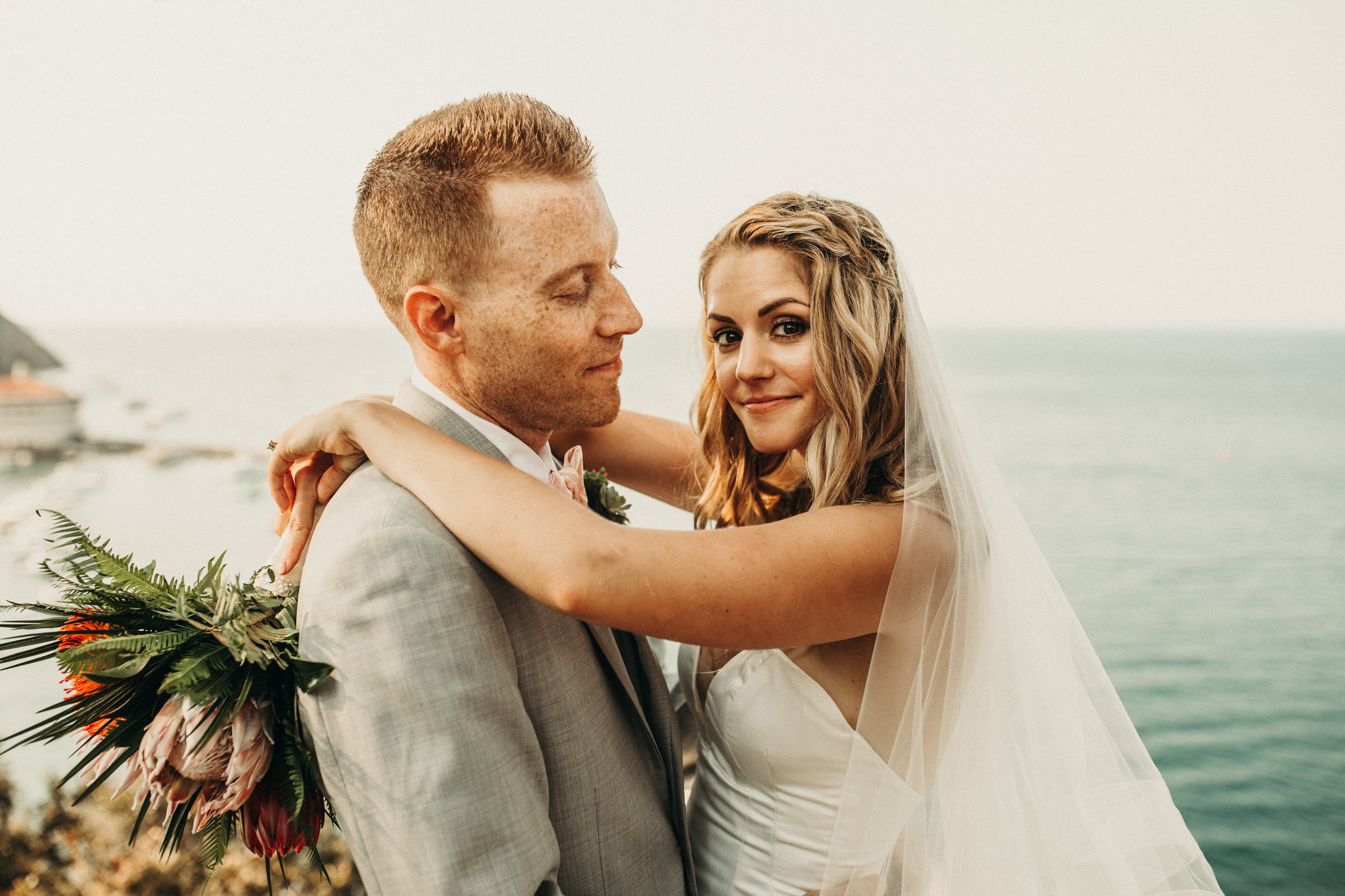 MELISSA + MARK - Intimate Wedding on Catalina Island