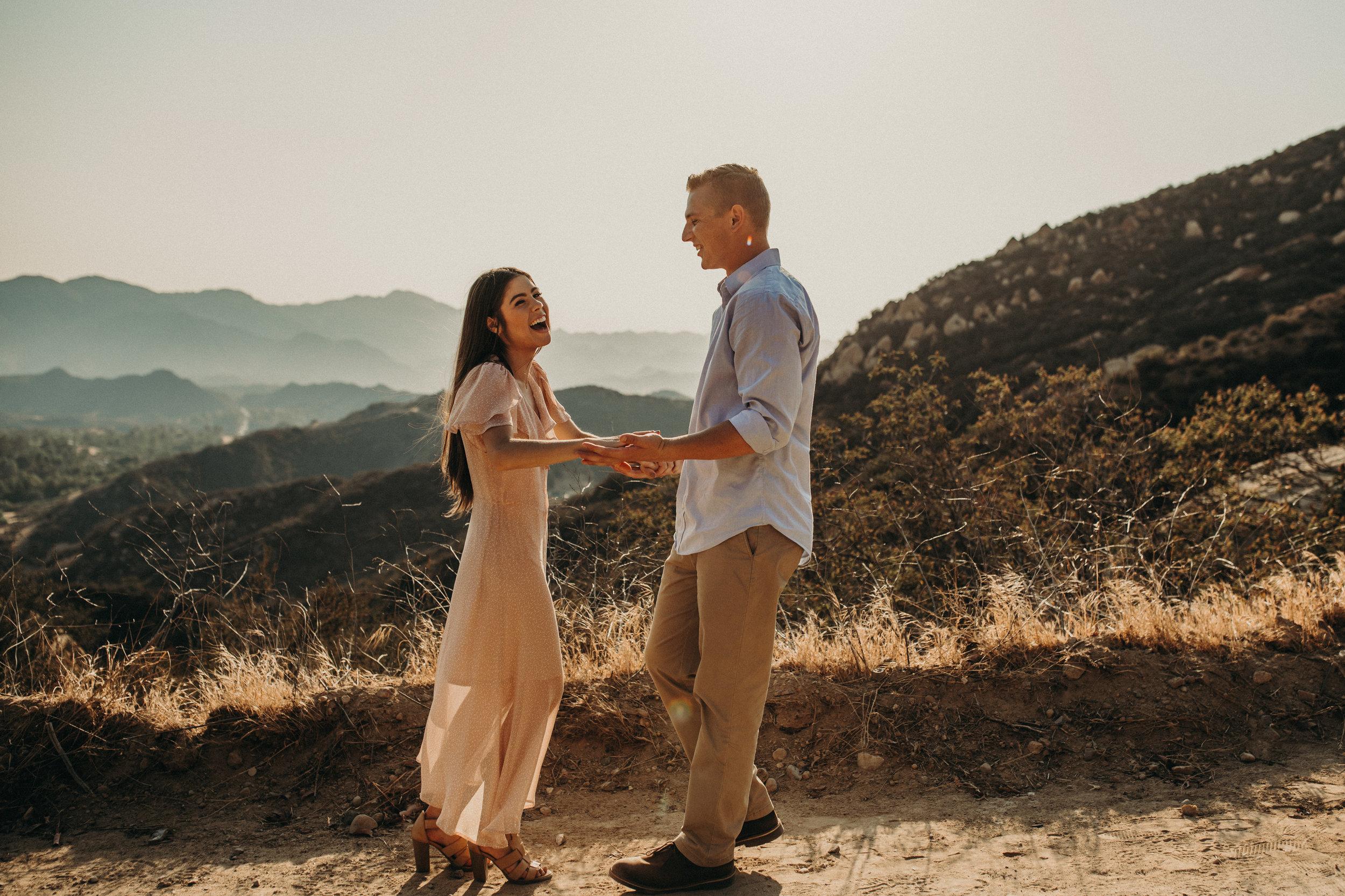 ERICA + CAMERON - Engagement shoot in Malibu, CA