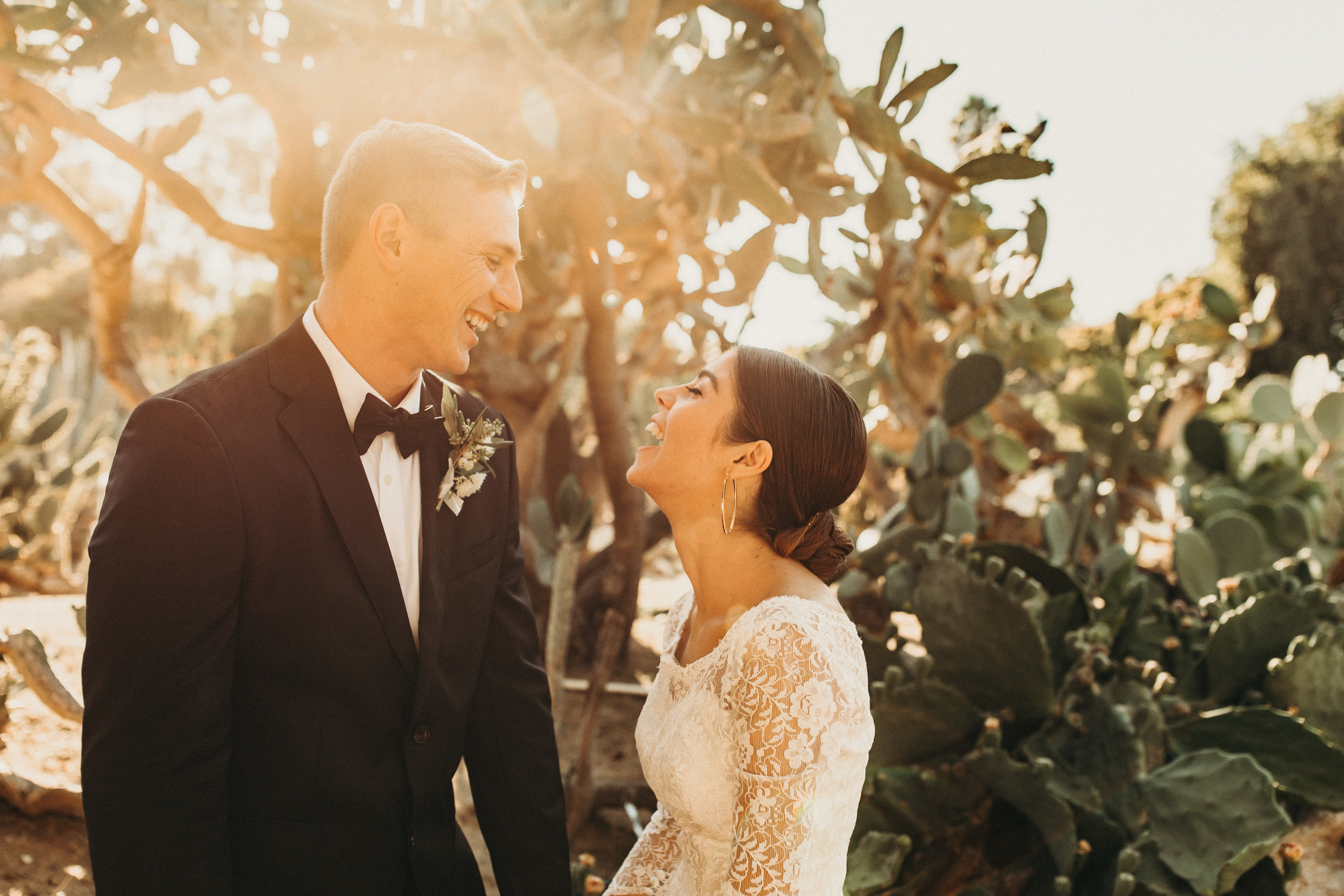 ERICA + CAMERON - Wedding at South Coast Botanic Garden