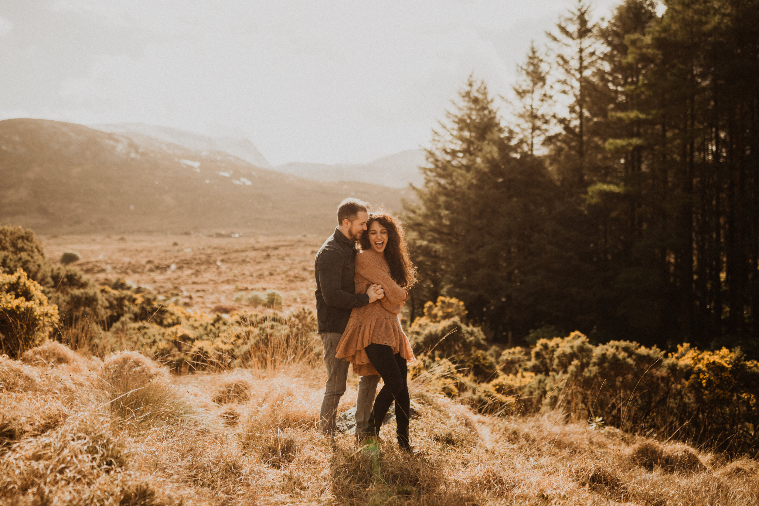 engagement session in county donegal, ireland