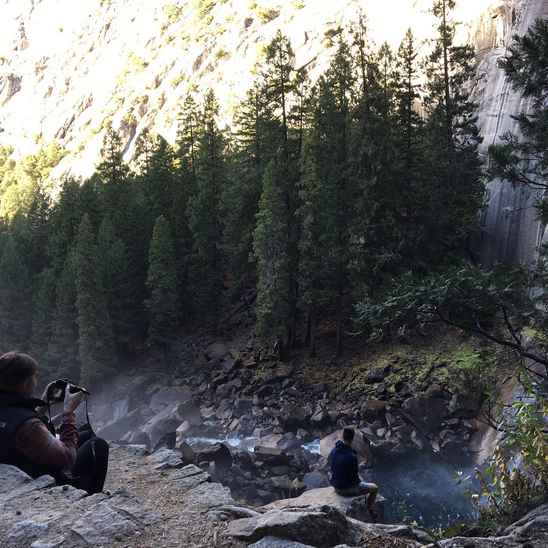 on a trip to yosemite where I was whippin out the cam and feeling so inspired