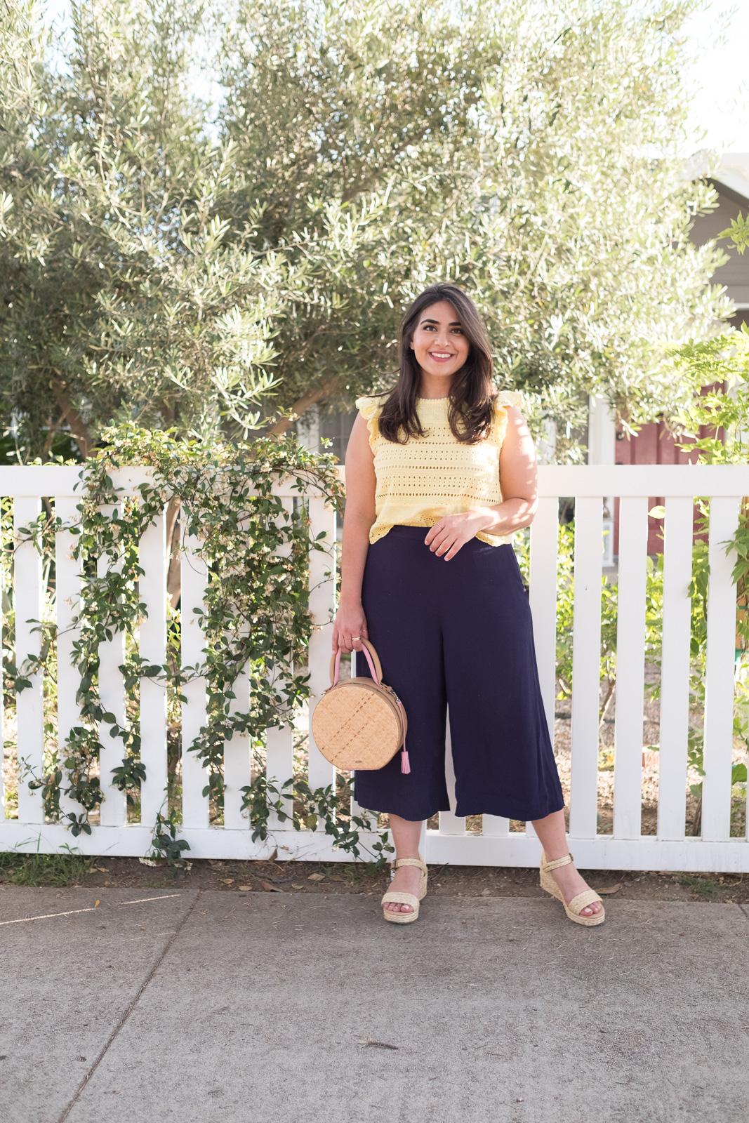 Summer culottes look