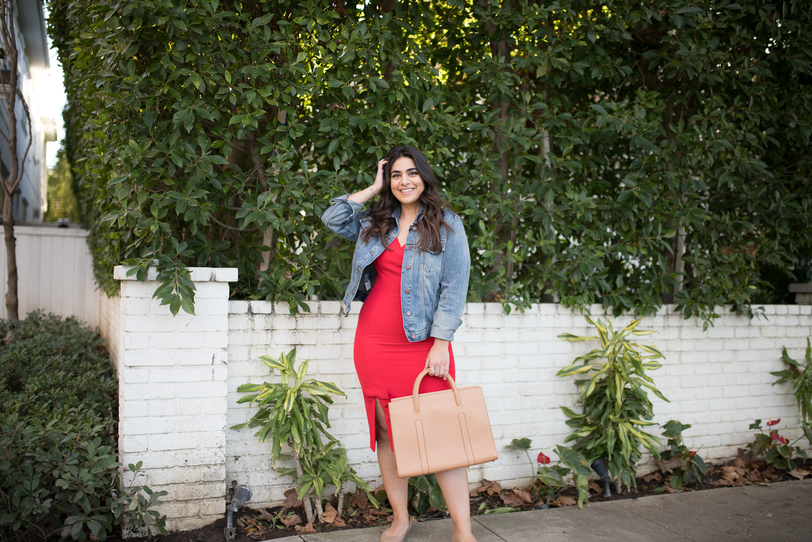 Maggy London Red Holiday Dress