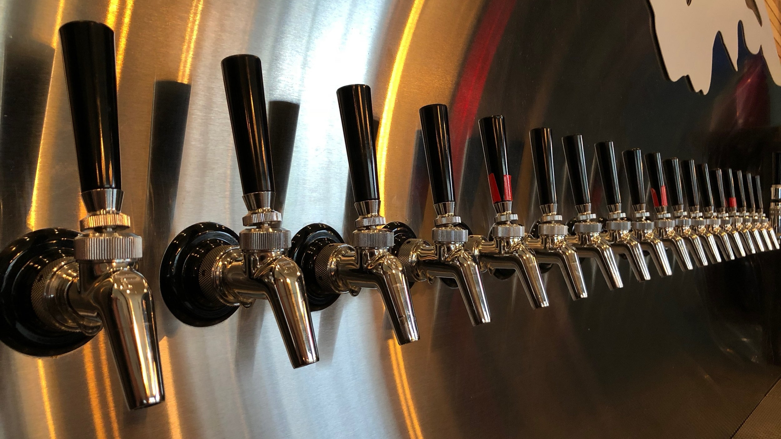 What's on tap -