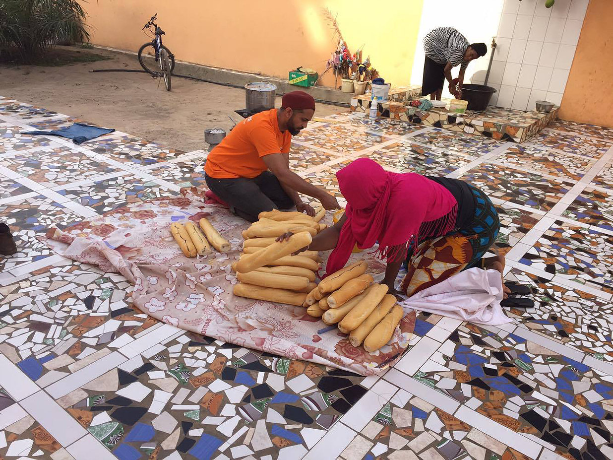 Working with foster mothers in Gambia
