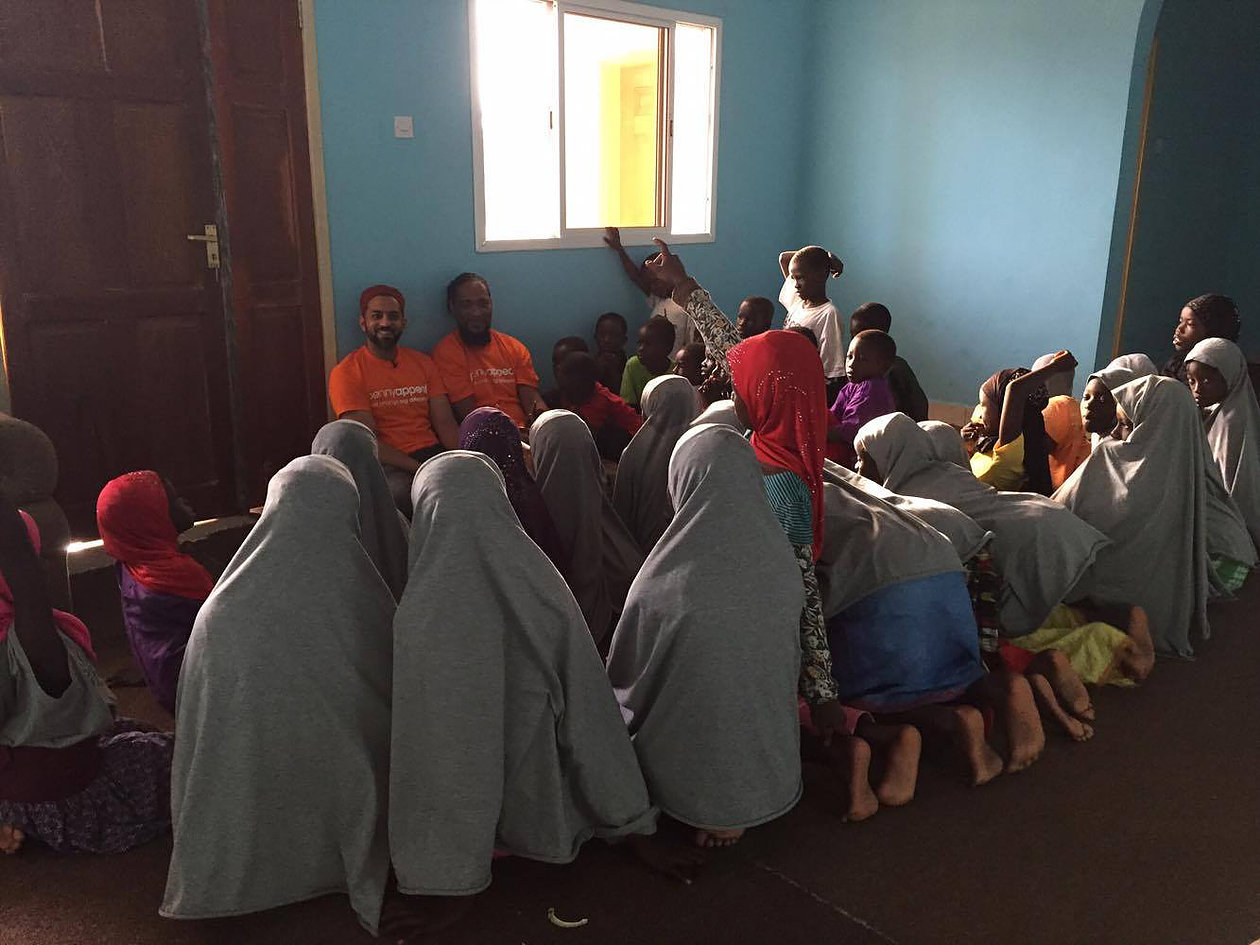 Foster kids in Gambia