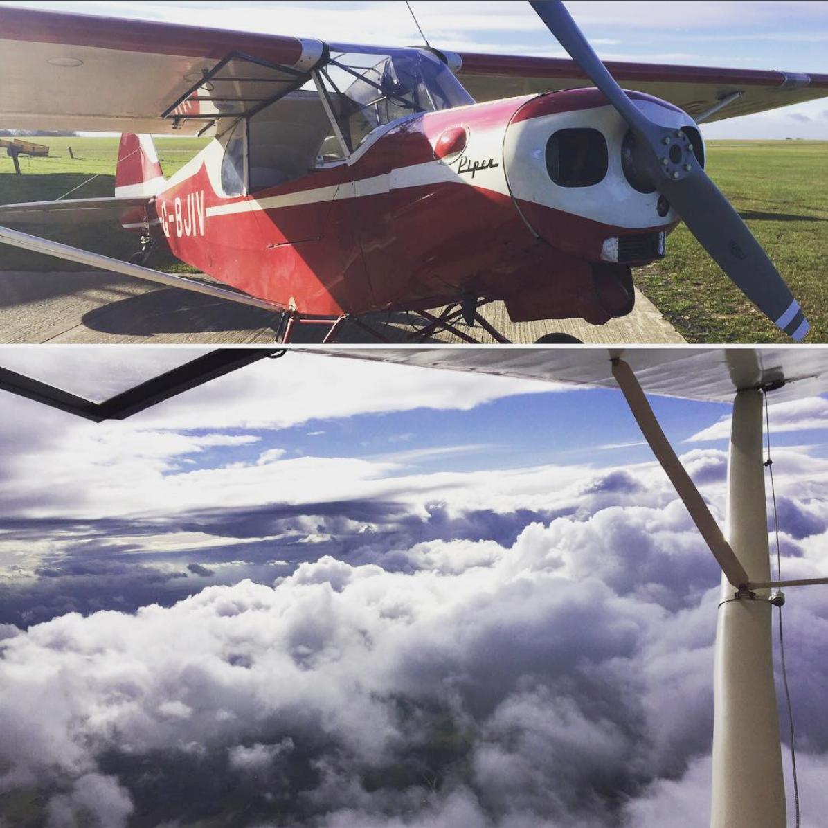 Two Seater Open Aeroplane