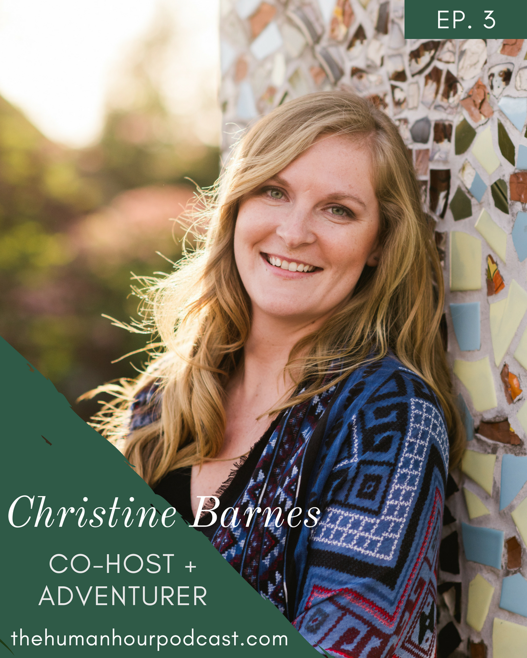 S1 E3: Meet Christine Barnes