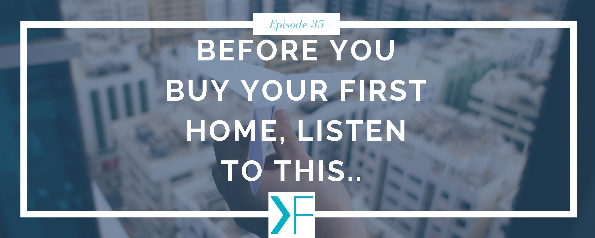 Buy first home in twenties