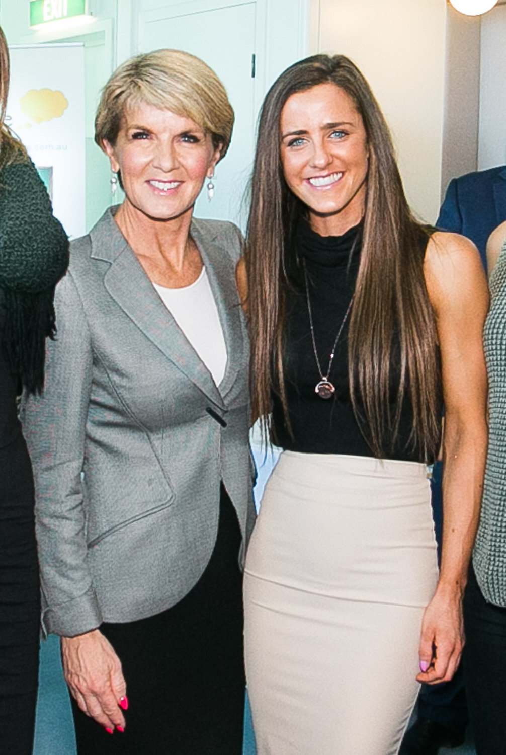 Photo with Foreign Minister, Julie Bishop.jpg