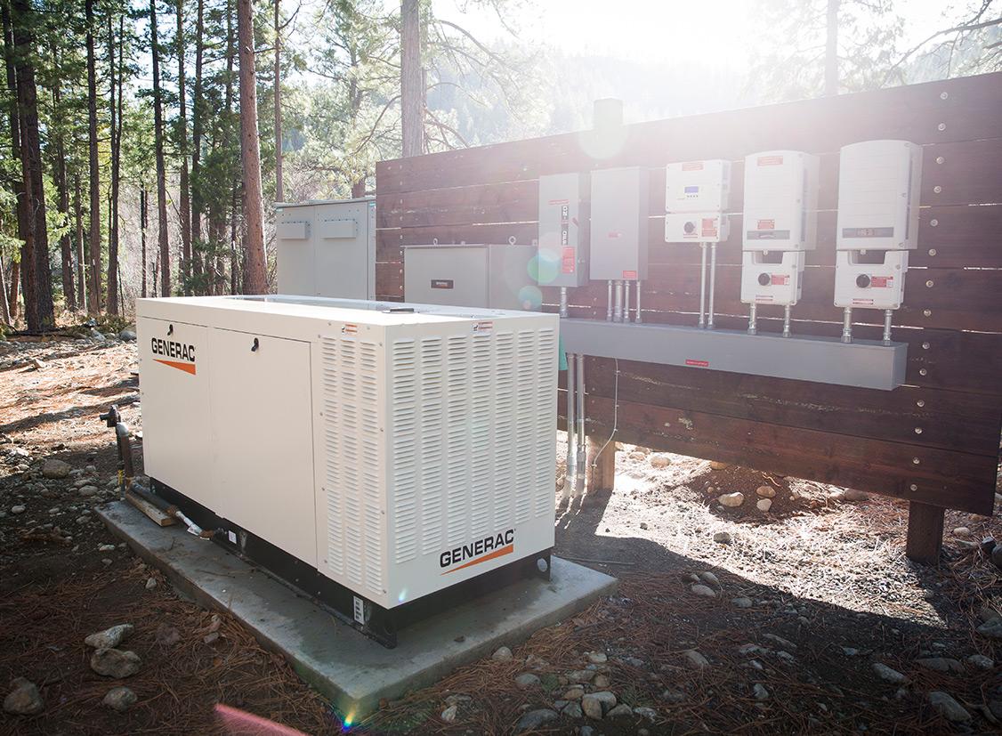 Solar panel energy storage system