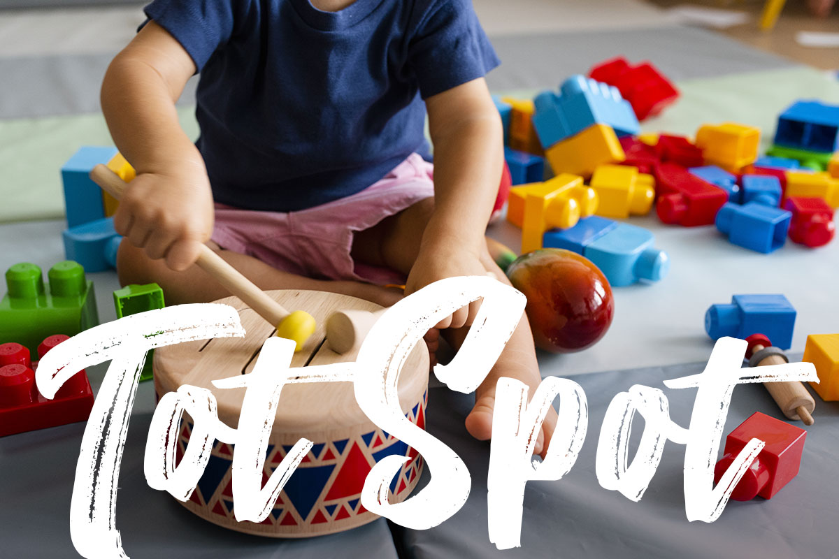 Hey, Mommas! - Interested in ideas for how to interact, teach, and play with your 1-5 year-olds… PLUS meet other moms with little ones? Check out TOT SPOT, our monthly guided play group for moms and toddlers. It's FREE!Summer 2019 Tot Spot Dates:Wednesday, June 26, 10-11:30amWednesday, July 24, 10-11:30amWednesday, August 28, 10-11:30am