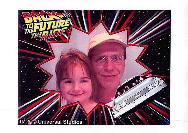 Universal Studios, 2001 #happyfathersday