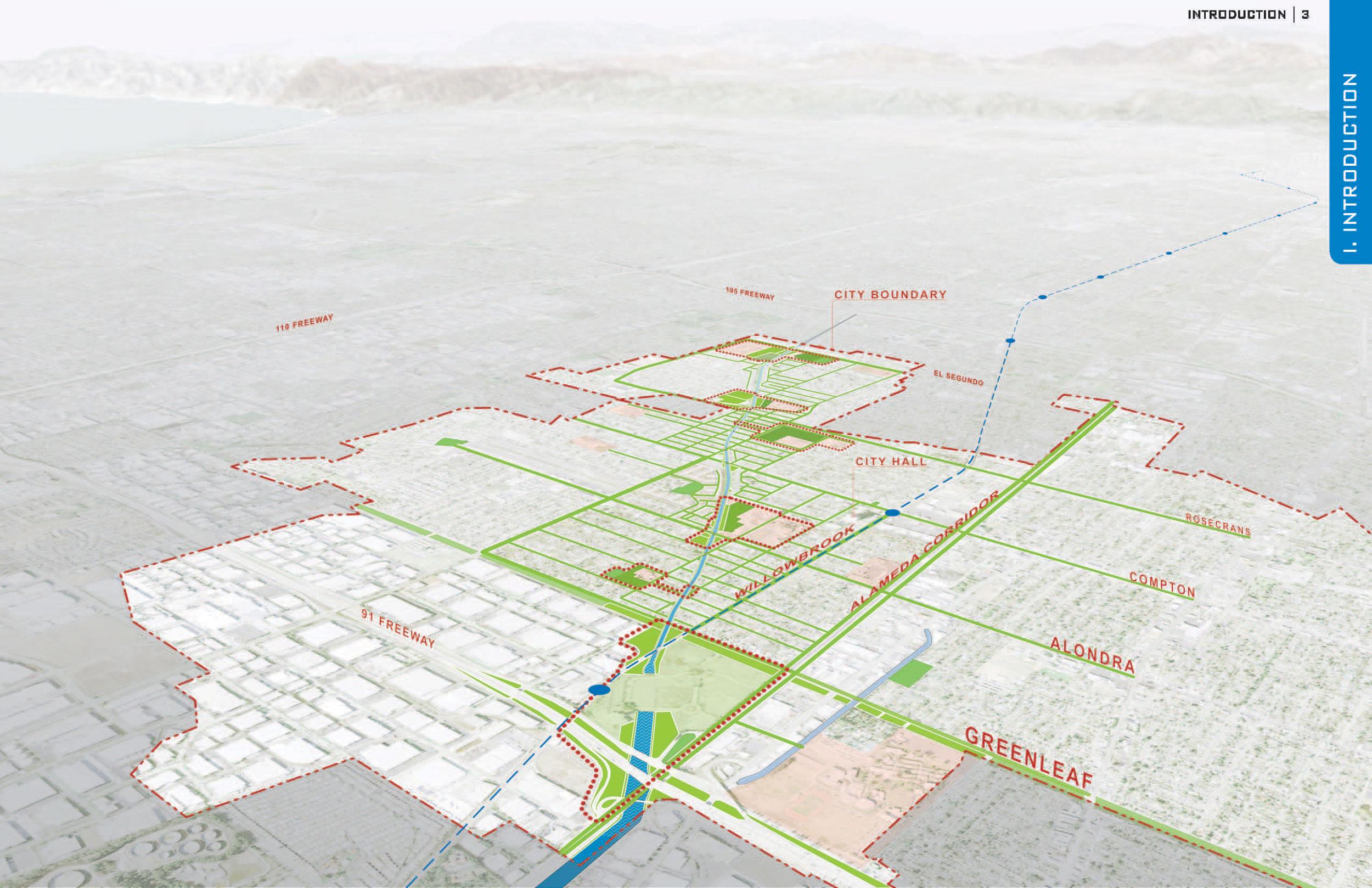 Compton Creek Master Plan - Los Angeles, CA
