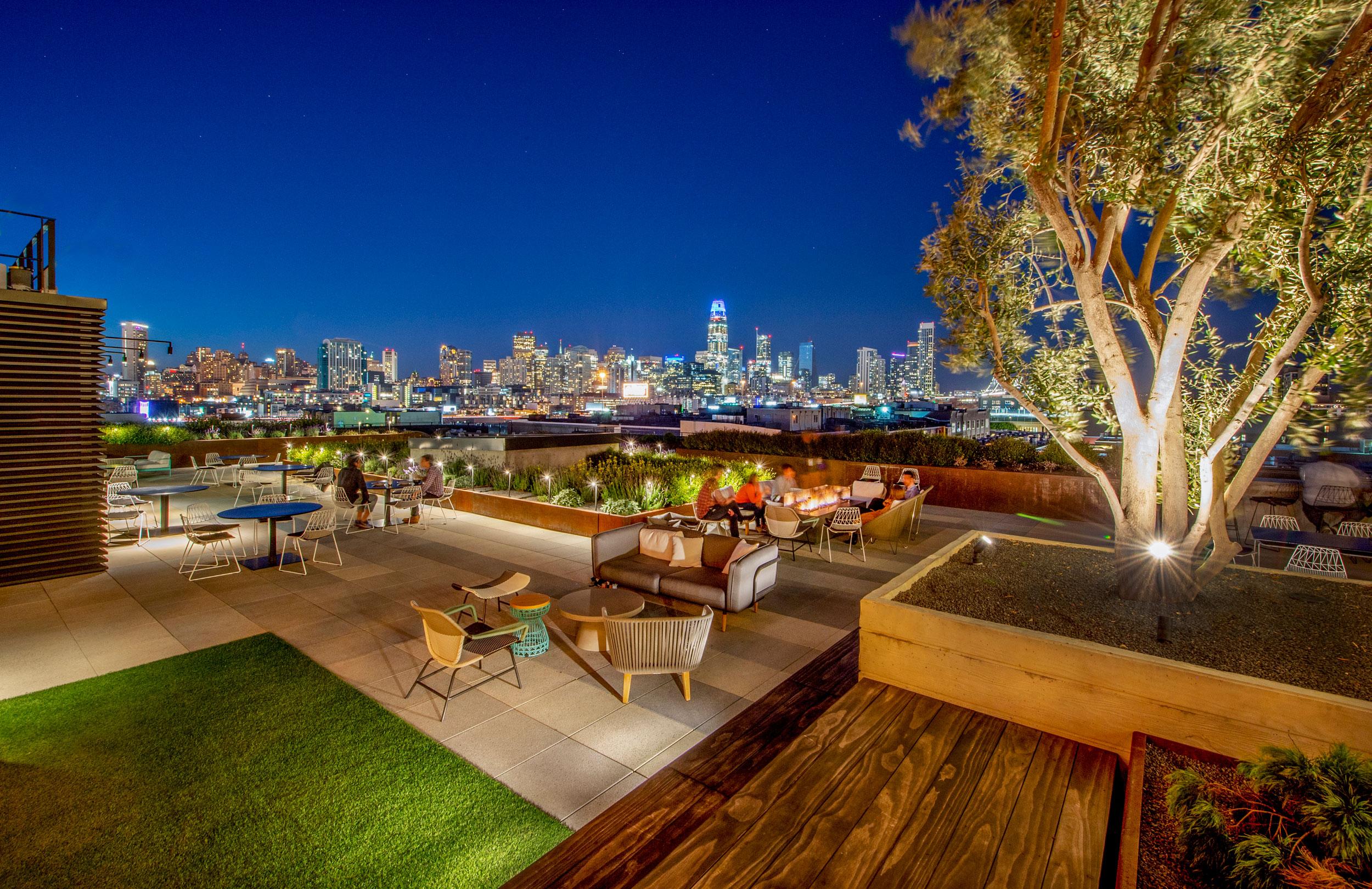 Alexandria Roof Garden - San Francisco, CA