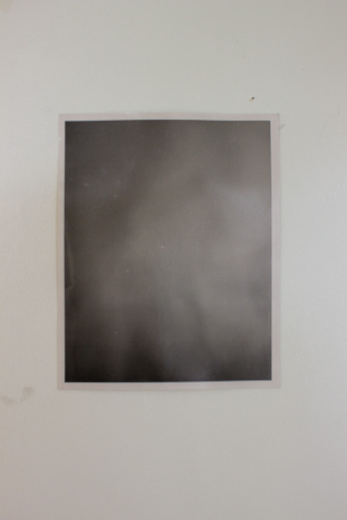 Gareth Kaye,  Nebula (After Henry Draper) , 2016, Photogram