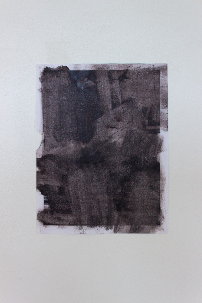 Julian Van Der Moere,  Untitled , 2018, Toner paper with acetone