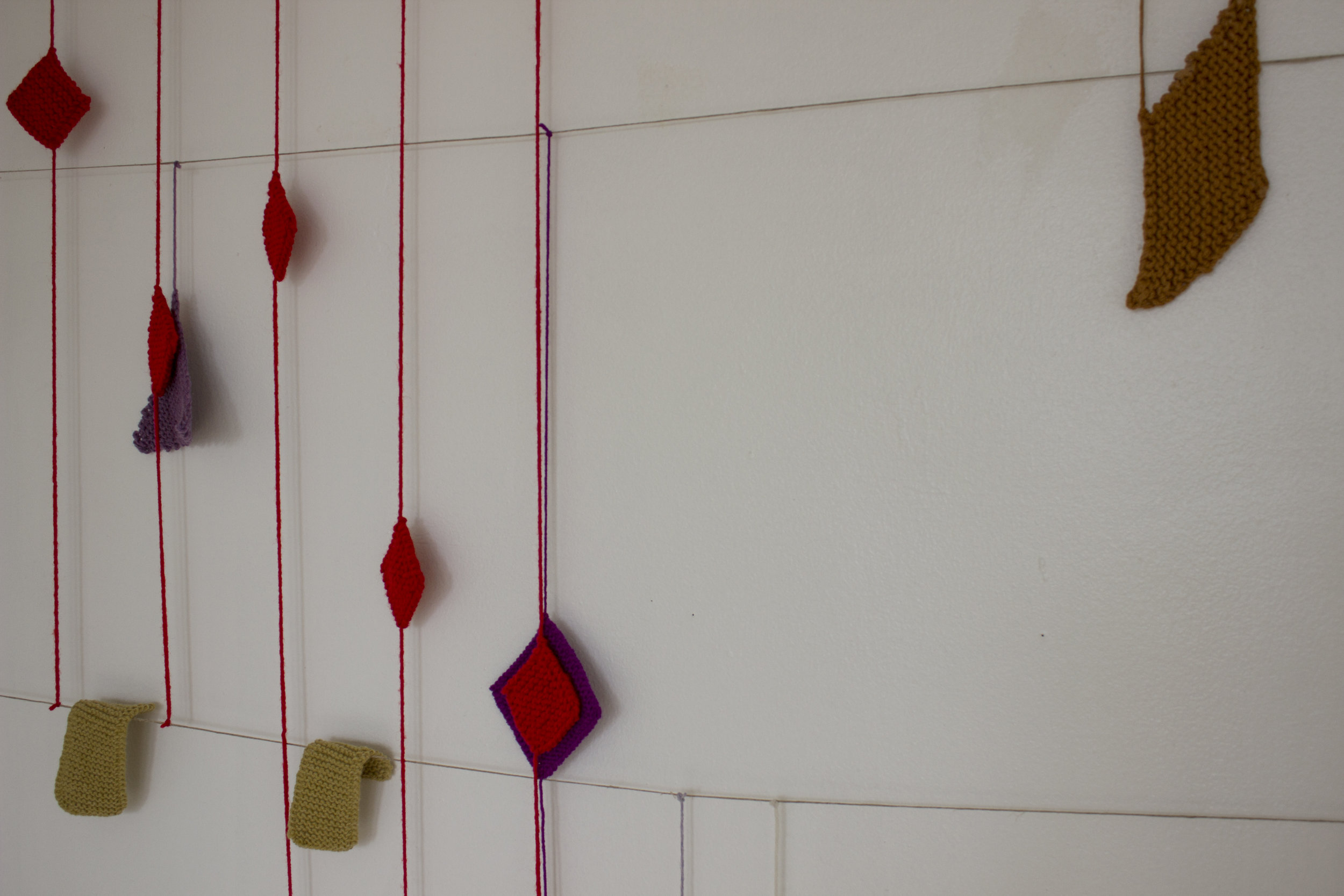 Tracie Hayes, Limited (Mapped) Revision of the Original Unbounded State, 2018, Yarn, Hemp
