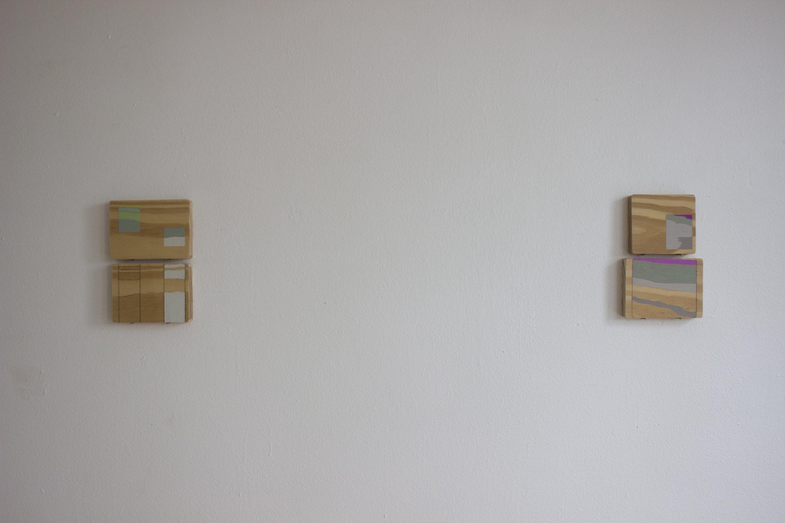 Installation view at Apparatus