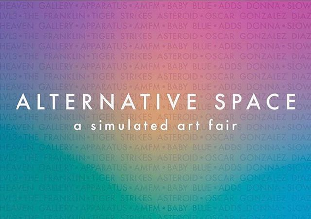 Very excited to announce that Apparatus will be taking part in Heaven's alternative space art fair, where our booth will revisit our September exhibition with Holly Murkerson and Sarah Reynolds. We're honored to be showing with so many other great spaces, friends, and colleagues. Come see us at the opening this Friday, June 28.