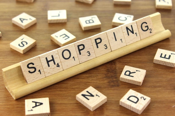We love the way shopping makes us feel. Plus, it's worth sixteen points, even without a double word score.