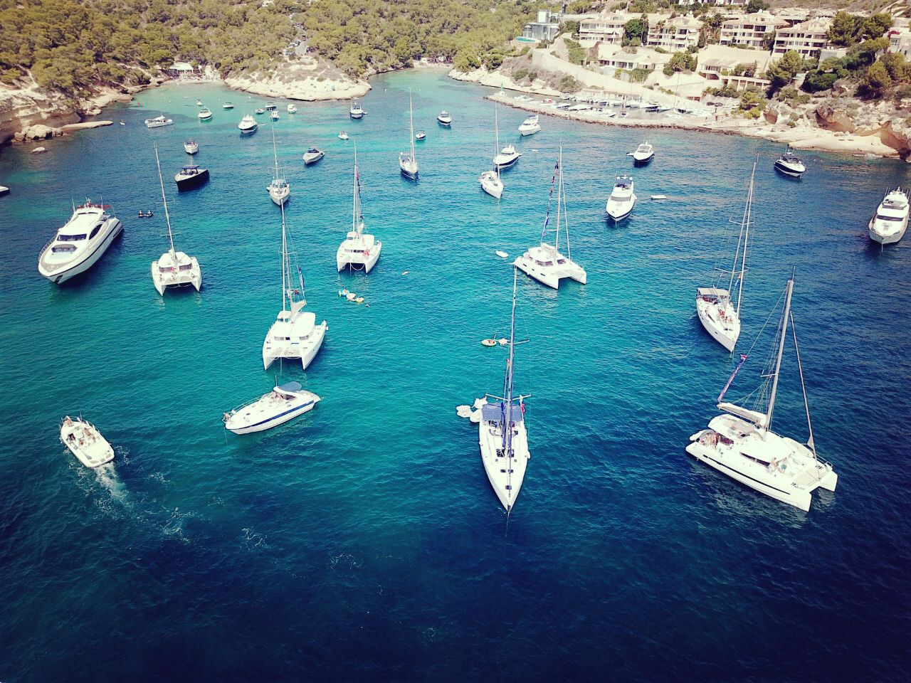 Sailing to new destinations daily made it interesting for us to pick from a variety of activities to enjoy. I participated in a wine tasting, hiked to the top of a castle, and regularly explored the markets and shops of each town when we dropped anchor.