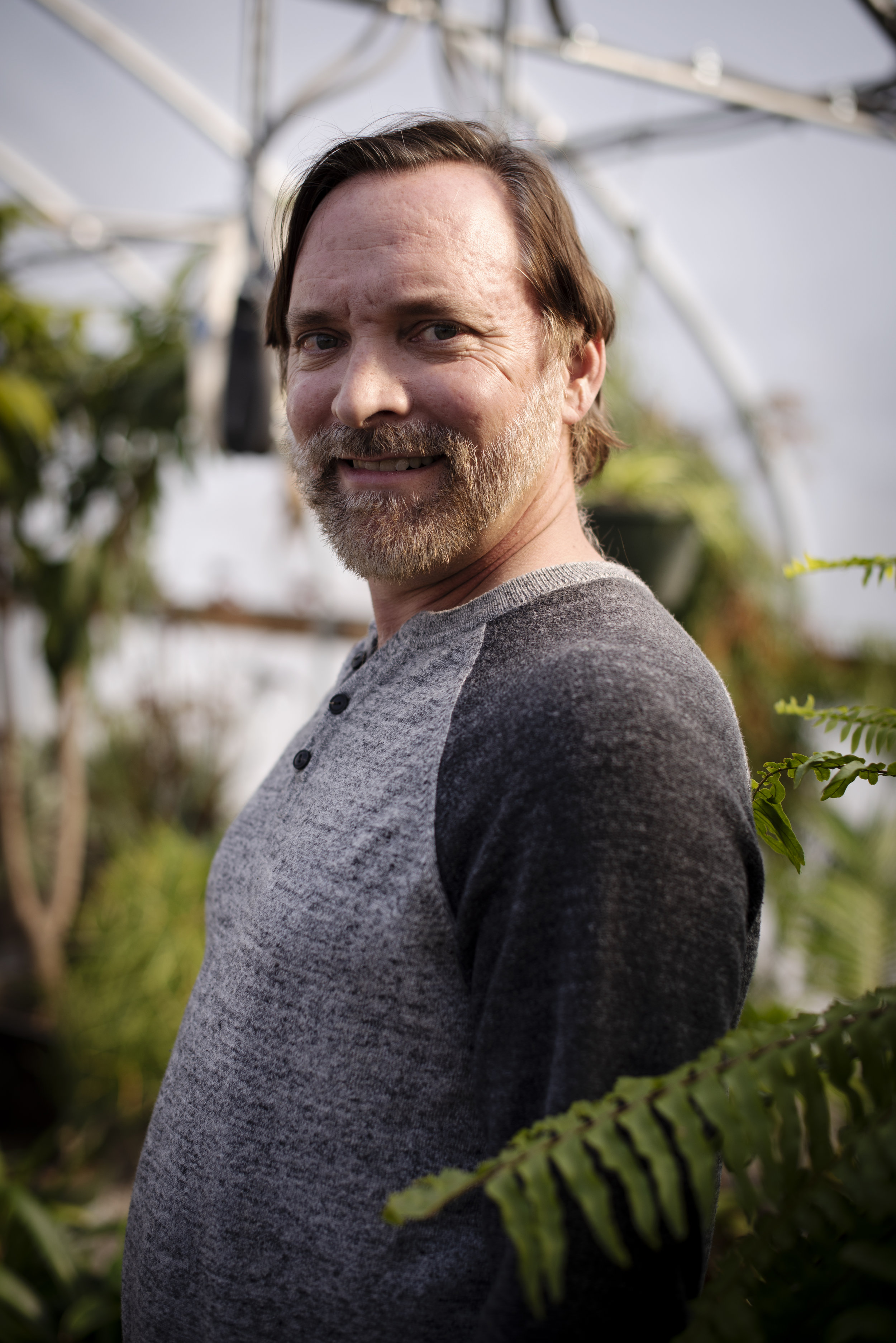 """Dennis Williams is a horticulturalist at the Baker Arboretum in Bowling Green. """"The thing about my job is [that] you get the best of both worlds,"""" Williams said. """"You get to see something growing all year being a horticulturalist."""""""