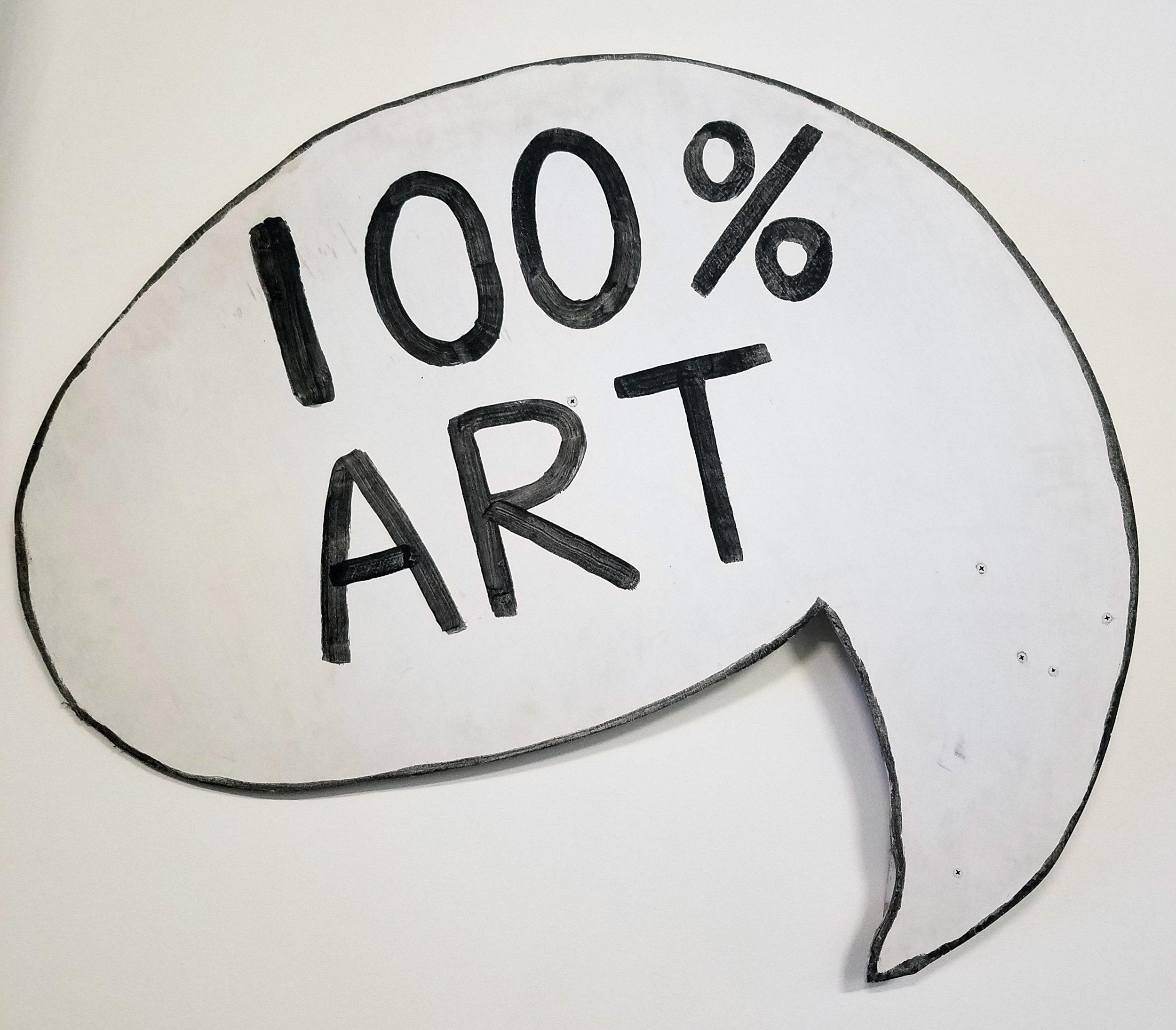Mark Freeland, 100% Art Speech Bubble.jpg