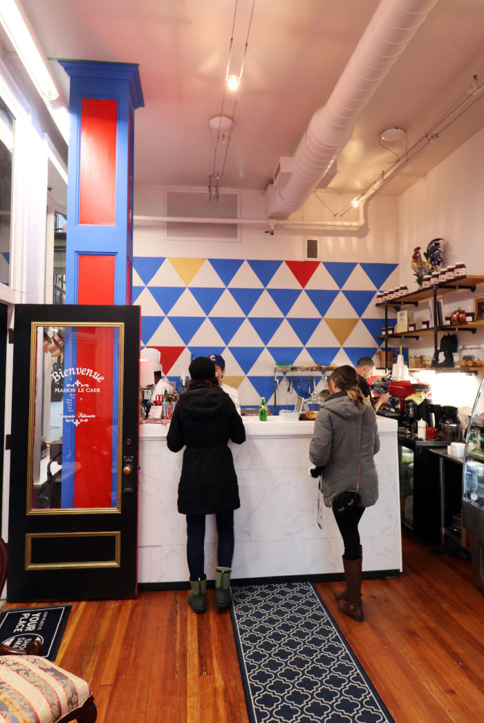 The new takeout cafe features all the hits you know and love from Pastry by Camille on Hertel: sweet crepes, savory crepes, and those macarons. There are also sandwiches on house-made sourdough or croissant, as well as a soup du jouR...— Step out buffalo, JANUARy 2019 - NEW: MAISON LE CAER HAS BLESSED MAIN STREET WITH CREPES & MACARONS