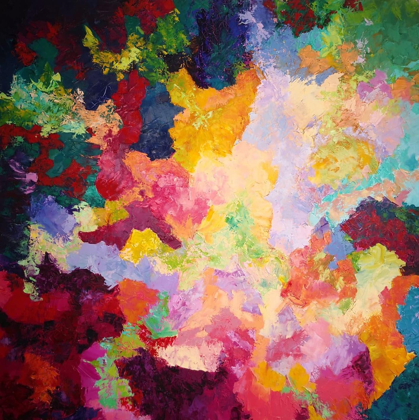 Heather M. Johnson, Cusp, Oil on canvas, 36 x 36 inches, $500.jpg